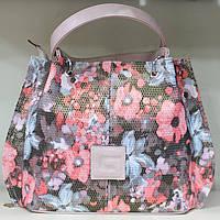Сумка торба женская Цветы Производитель Украина 17-1281-7