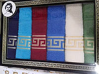 Набор полотенец для кухни махровые 6шт 30*50см Турция