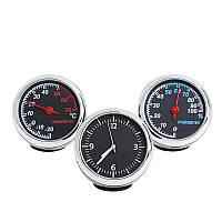Автобильные часы, термометр, гигрометр Elite Collection