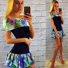Летние трикотажное платье , фото 3