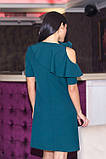 Женское платье с открытым плечом , фото 2