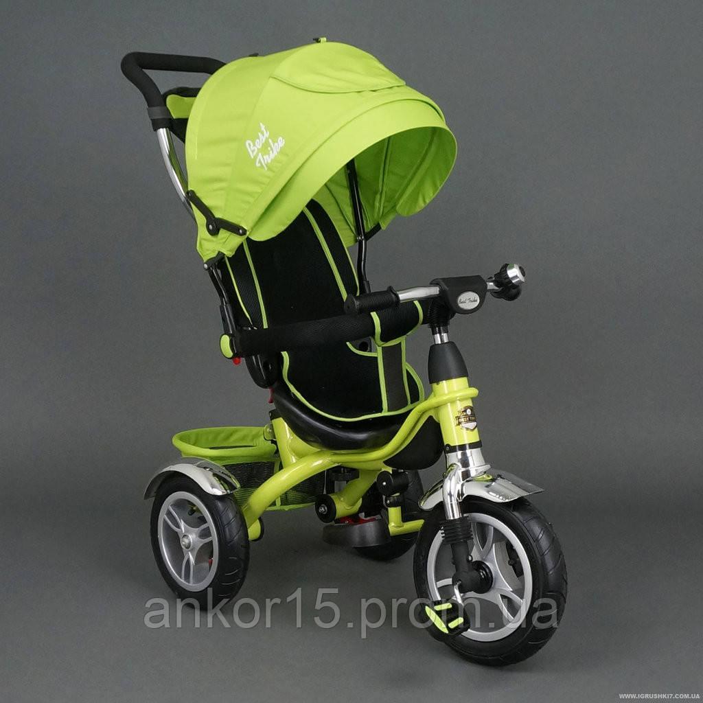 Дитячий триколісний велосипед (надувні колеса) Best Trike 5388