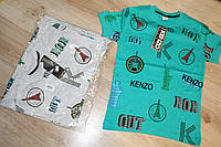 Модная детская и подростковая футболка с принтом