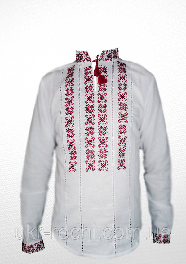 ... фото · Сорочка вишита хрестиком та оздоблена мережкою 28ec87be2a644