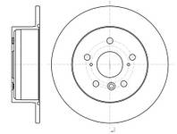 Тормозной диск задний Roadhouse RH 61327.00 для Toyota Camry (Mcv3, Acv3, Xv3) 01.2006-11.2006