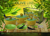 Набор посуды Berlinger Haus 1380 Olive Line