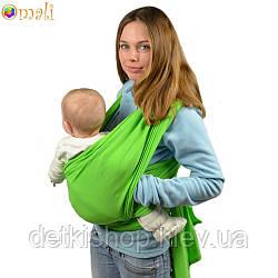 Трикотажный слинг-шарф Omali (салатовый)