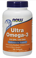 Ультра омега, Now Foods, Ultra Omega -3, 180sgel