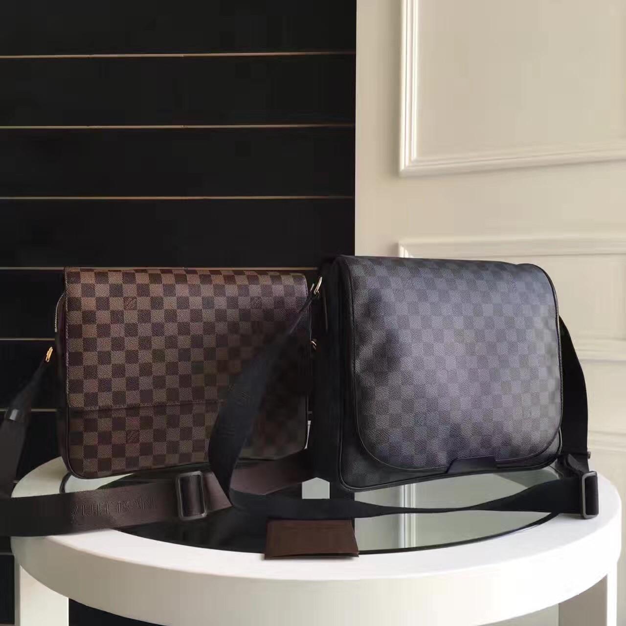 Сумка мужская Louis Vuitton Daniel MM, Original quality