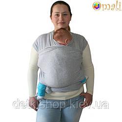 Трикотажный слинг-шарф Omali (серый)
