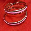 Сережки кольца с разноцветной серединой , фото 4