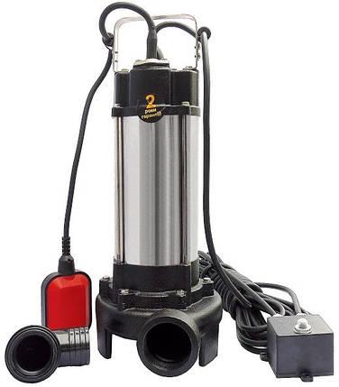 Насос фекальний з ріжучим механізмом Optima V1100 1.1 кВт, фото 2