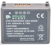 Аккумулятор PowerPlant Panasonic VW-VBE10, CGA-S303 820mAh