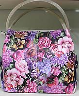 Сумка торба женская Производитель valetta studio Украина Цветы 17-1078-19