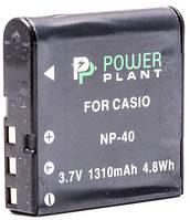 Акумулятор PowerPlant Casio NP-40 1310mAh