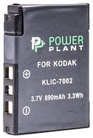 Аккумулятор PowerPlant Kodak KLIC-7002 890mAh