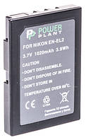 Аккумулятор PowerPlant Nikon EN-EL2 1020mAh