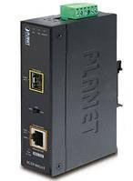 Промышленный медиаконвертер Planet IGTP-805AT (1000Base-SX / LX to 10/100/1000Base-T 802.3at PoE)