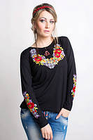 Женская вышиванка длинный рукав