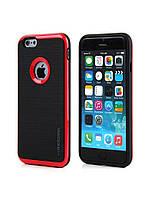 Чехол для iPhone 7 - Motomo Slim line, красный