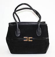 Классическая женская сумочка черного цвета
