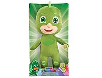 Мягкая игрушка -Гекко -Пижамомаски -говорящий PJ Masks 36 см.