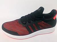 Кроссовки мужские Adidas climachill черные с оранжевым
