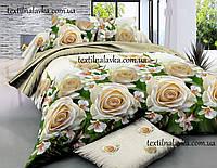 Полуторный комплект спального постельного белья из хлопка ( Ранфорс )