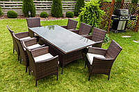 Новинка  Садовая мебель Ротанг TRAPANI 9 коричневый