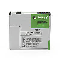 Аккумулятор PowerPlant HTC G17 (BG86100) 1750mAh