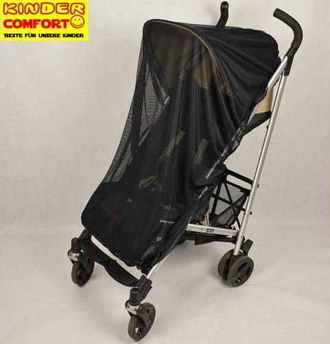 Универсальная москитная сетка для коляски (Черный), Kinder Comfort