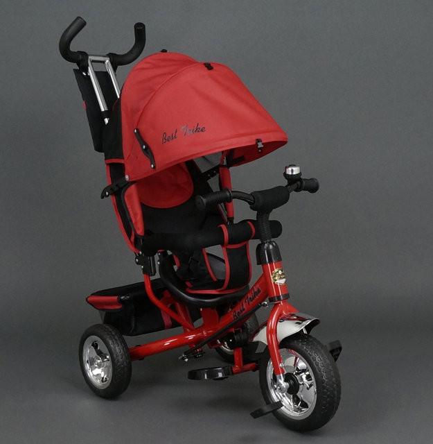 Дитячий триколісний велосипед Best Trike 6588 червоний