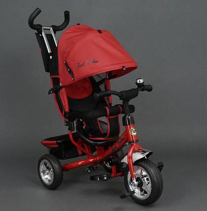 Дитячий триколісний велосипед Best Trike 6588 червоний, фото 2