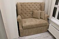 Мягкий диван с ящиком на кухню или балкон (Бежевый)