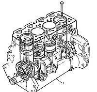 LD39339 ДВИГАТЕЛЬ (SHORT ENGINE) PERKINS