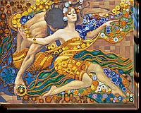 Набор для вышивания бисером на художественном холсте Реки любви