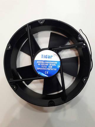 Вентилятор Tidar (220V, 0.31A) 200х200x60 мм (круглый), фото 2