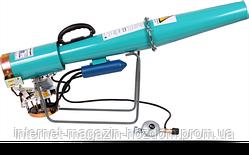 Пропановая пушка с механическим приводом