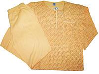 Пижама женская трикотажная с начесом,  размер XL, арт. 056