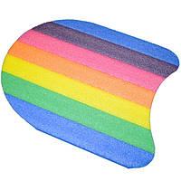 Доска для плавания разноцветная, 35*31*2,8 cm