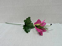 Цветы искусственные-179. Лилия розова, 32см