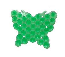 Полочка-липучка Бабочка зеленая Оптом