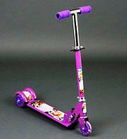 Самокат фиолетовый София, фото 1