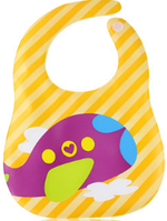 Слюнявчик непромокаемый с ковшом для еды  Оптом