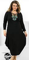 Женское платье свободного фасона, Мода плюс