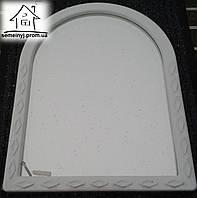 Зеркало для ванной 001 (белое)