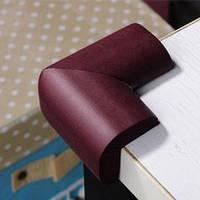 Защита на острые углы мебели - большая. Белый. Оптом