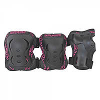 Комплект защиты Tempish FID черно-розовые /XL