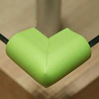 Защита на острые углы стола. Салатовый  Оптом