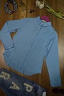 Женская блуза шелк с длинным рукавом Elisabetta Franchi